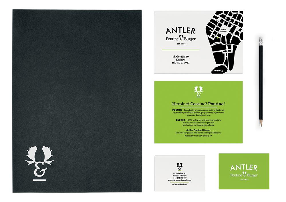 Antler bistro visual identity design nina greger proste kreski (6)