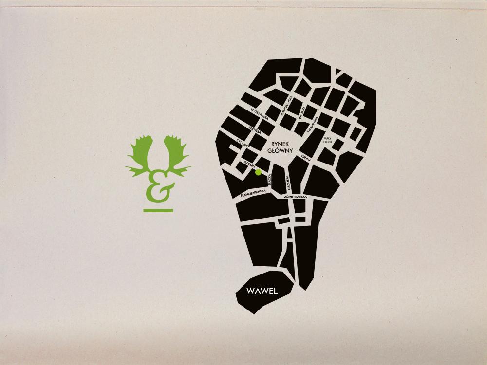Antler bistro visual identity design nina greger proste kreski (7)