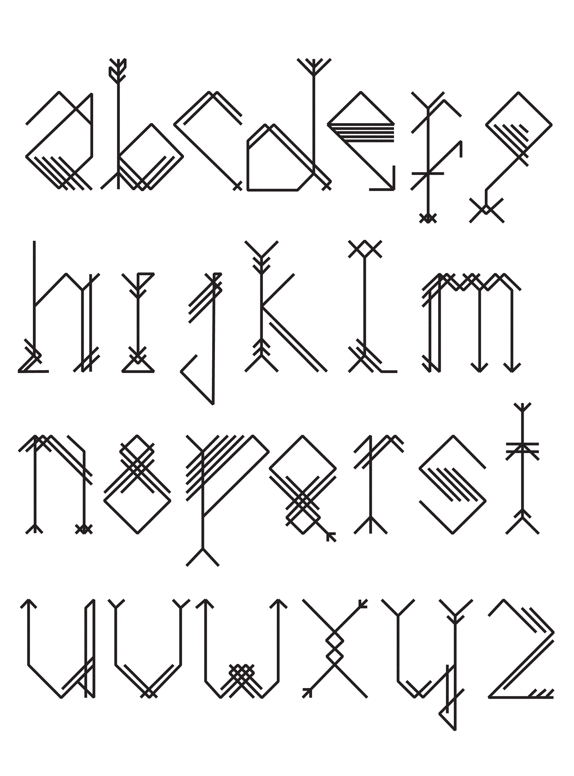keep poing font typography alphabet nina gregier (2)