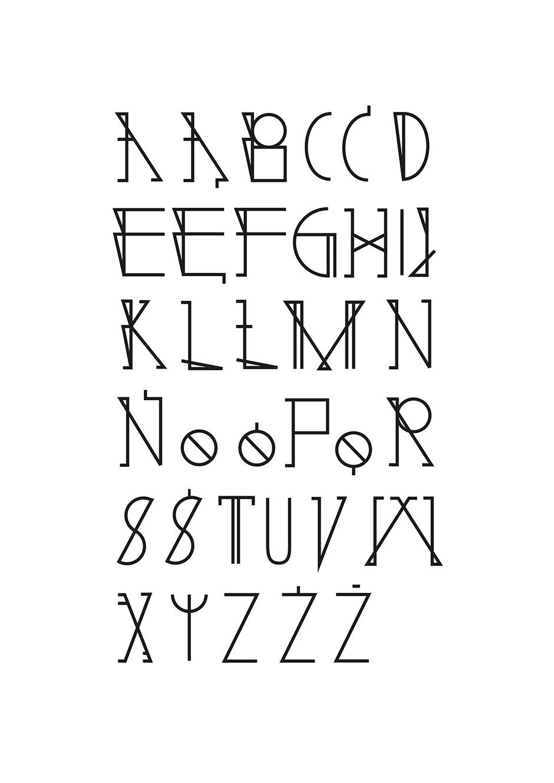 nina gregier proste kreski baltazar font (1)