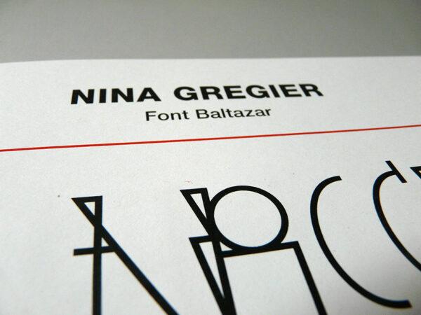 nina gregier proste kreski baltazar font (10)
