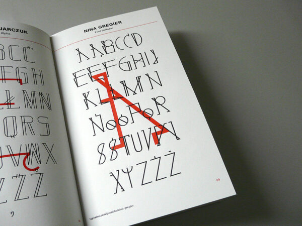 nina gregier proste kreski baltazar font (7)