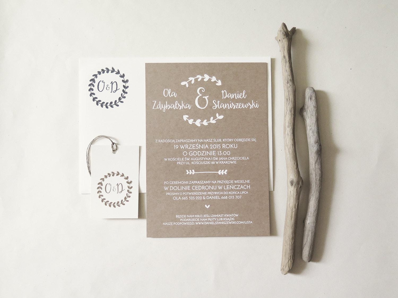 zaproszenie ślubne ola & daniel (1)