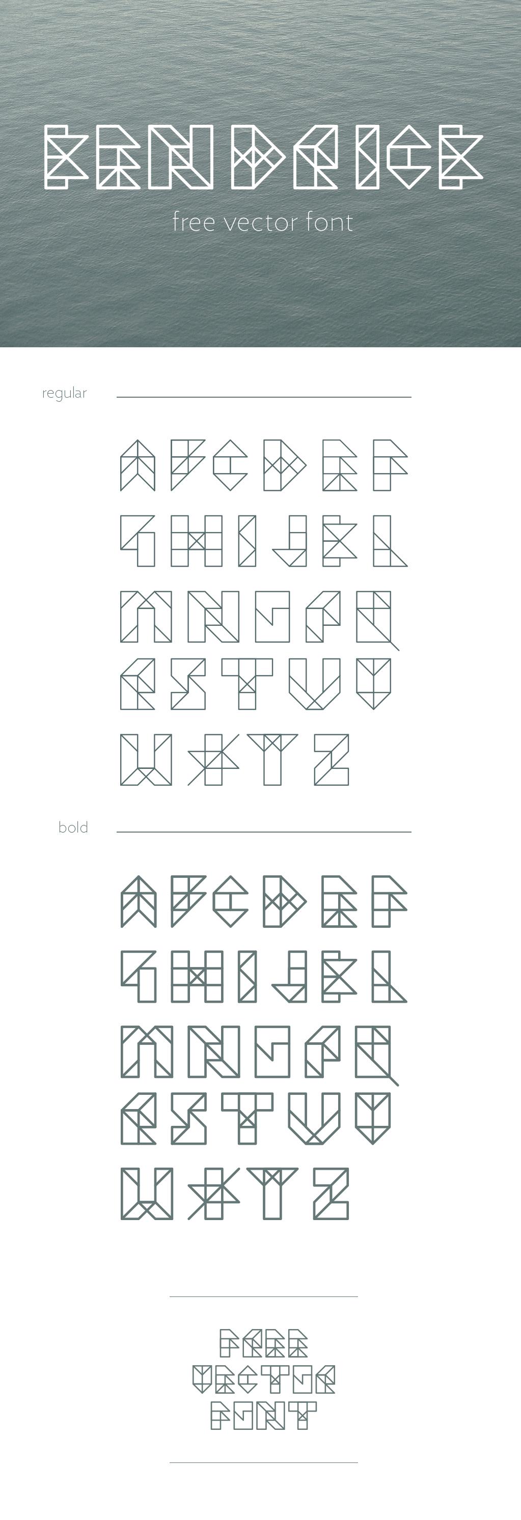 kendrick font