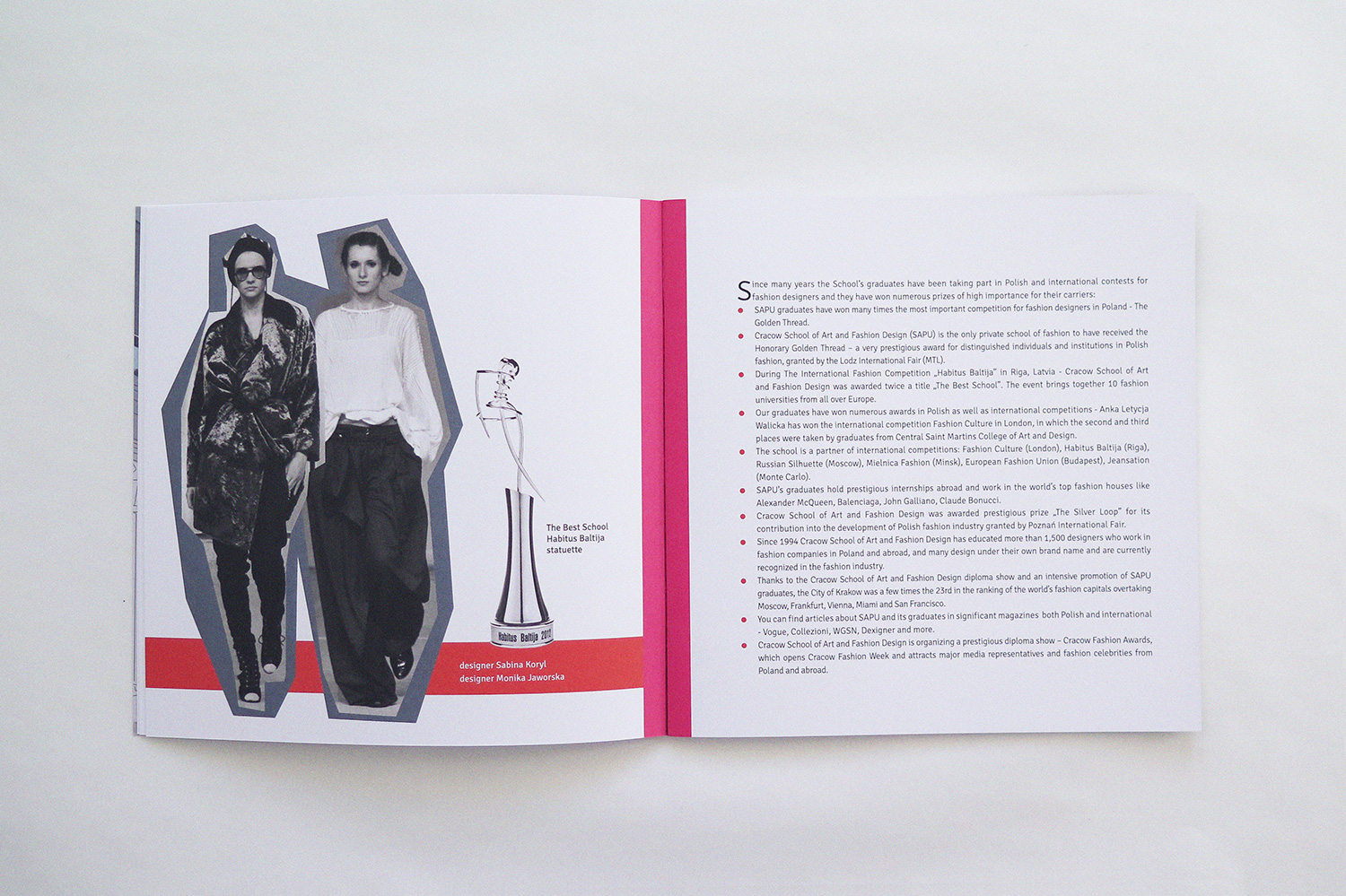 cracow school of art and fashion design brochure by nina gregier (3)