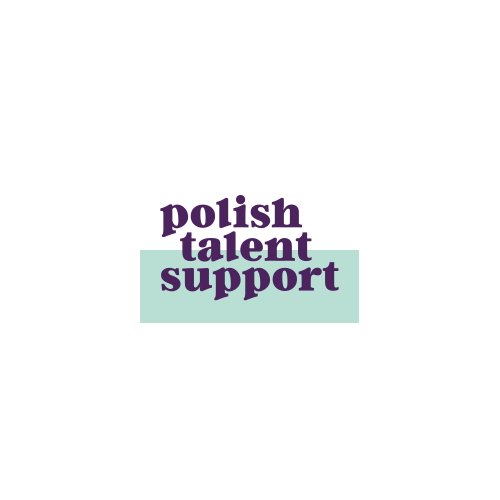 polish talent support logo